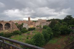 Перемещение города Рима Италии старое красивое старое красивое Стоковые Изображения