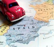 Перемещение Европа - Испания Стоковое Изображение