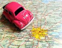 Перемещение Европа - Лондон Стоковое Изображение