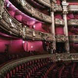 Перемещение Европы оперы Парижа более garnier открывает Стоковые Изображения