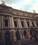 Перемещение Европы оперы Парижа более garnier открывает Стоковые Фотографии RF