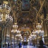 Перемещение Европы оперы Парижа более garnier открывает Стоковое Фото