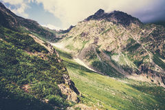 Перемещение лета ландшафта скалистых гор Стоковая Фотография RF