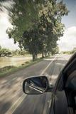 перемещение игрушки карты европы автомобиля Стоковые Изображения RF