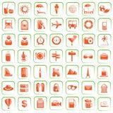 перемещение иконы Стоковые Фотографии RF