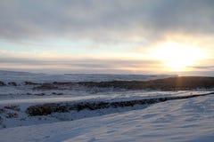 Перемещение Исландии Стоковые Изображения RF