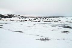 Перемещение Исландии Стоковое фото RF