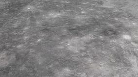 Перемещение камеры на поверхности Меркурия в высококачественном На красивой расслабляющей предпосылке r иллюстрация вектора