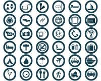 перемещение комплекта икон круглое