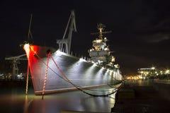 Перемещение корабля порта Стоковое Изображение RF