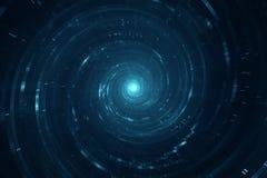 Перемещение космоса и времени Стоковое фото RF