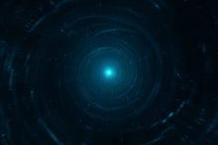 Перемещение космоса и времени Стоковая Фотография