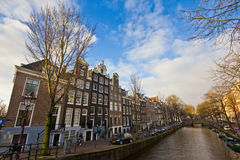 Перемещение к Амстердаму Стоковые Фотографии RF