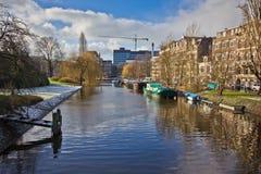 Перемещение к Амстердаму 2 Стоковые Изображения RF