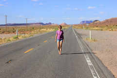 Перемещение к Аризоне, США Стоковые Изображения