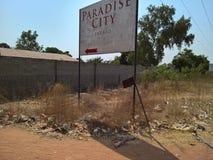 Перемещение к Гамбии стоковая фотография