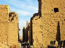 Перемещение к Египту, Луксору Стоковые Фотографии RF