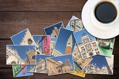 Перемещение к концепции Венеции (Италии) стоковое изображение rf