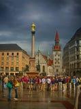 перемещение к Мюнхену Стоковое Фото