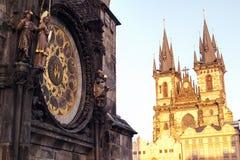 Перемещение к Праге Стоковая Фотография RF