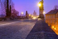 Перемещение к Праге Стоковая Фотография