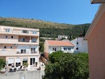 Перемещение к Черногории на Адриатическом море Стоковые Изображения RF