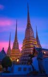 Перемещение к Wat Pho Таиланду Стоковое Изображение