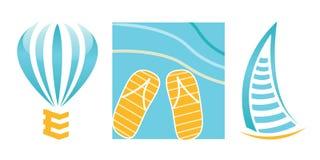 перемещение логосов компании Стоковое Изображение