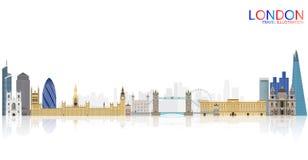 Перемещение Лондона Стоковые Фото