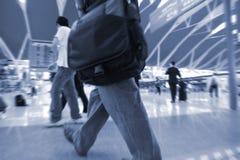перемещение людей Стоковое Фото