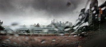 Перемещение моста гавани Сиднея Стоковое Изображение