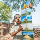 Перемещение Мьянмы Стоковое Изображение RF
