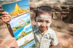 Перемещение Мьянмы Стоковое Фото