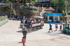Перемещение Мьянмы Стоковое Изображение