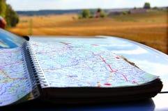 перемещение направлений Стоковая Фотография RF