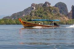 Перемещение - национальный парк Ao Phang Nga стоковые фото