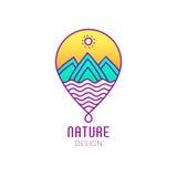 Перемещение логотипа Стоковая Фотография