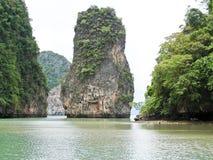 Перемещение острова на юге  Таиланда Стоковое Фото