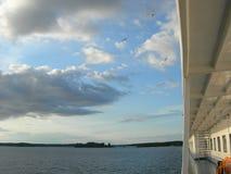 перемещение пара корабля реки Стоковая Фотография RF