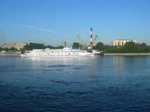 перемещение пара корабля реки Стоковые Изображения RF