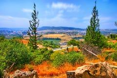 Перемещение пещеры Soreq Avshalom в Израиле Стоковые Изображения