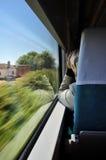 перемещение поезда Стоковое фото RF
