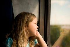 Перемещение поезда Стоковое Изображение