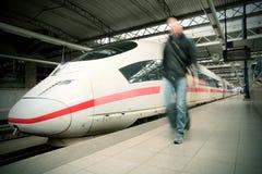Перемещение поезда Стоковая Фотография RF