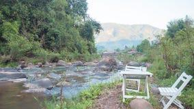 Перемещение реки водопада в Таиланде Стоковое Изображение