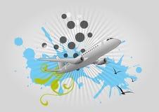 Перемещение самолета бесплатная иллюстрация