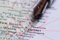 перемещение Сиднея дела Стоковая Фотография