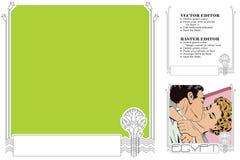 перемещение темы улицы palanga города литовское Египет Рамка для scrapbook, знамени, стикера, socia Стоковые Фото