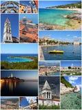 Перемещение Хорватии Стоковая Фотография RF