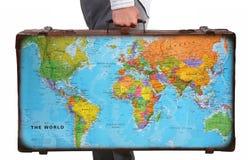 перемещение чемодана Стоковая Фотография